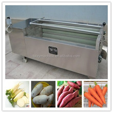 patato /sweet potato/ taro/radish washing and peeling machine with factory price