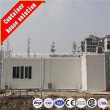 Sitio de construcción Casas contenedor