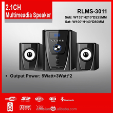 ADULTS DAY gift 2.1 multimedia speaker for laptop computer home theatre enjoy movies and music