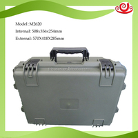 Durable portable heavy-duty hard plastic shockproof protective outdoor case for long transportion
