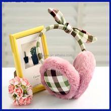 2015 Manufacture direct sale cheap knitted earmuffs