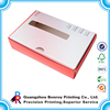 Guangzhou Factory Fast Produce Paper Cosmetic Box PVC PET Transparent
