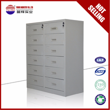 Hot Selling Durable KD Godrej Multi Drawer Metal steel documents storaging cabinet with Large Capacity for office