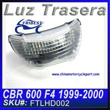 Motocicleta luces traseros LED por Honda CBR 600 F4 1999-2000 clear FTLHD002