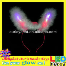 led bunny ear head boppers,kids head boppers,pink head boppers ZH0910608