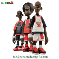 2015 Custom Cartoon Player Resin Bobble Heads