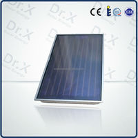 Green Energy flat plate solar heat collectors for sale