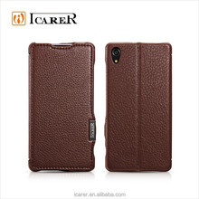 Flip Stand Leather Case For Sony Xperia Z2