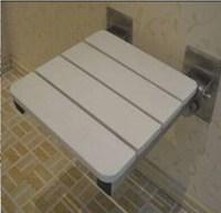 stainless steel bathroom folding shower chair