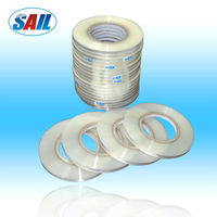 BOPP Adhesive tape for bag sealing used in clothes bag, left glue or right glue