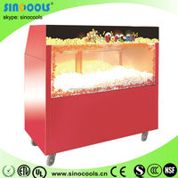 Stainless steel Popcorn Warming Showcase