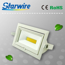 Dimmable trunk light COB 30W COB led trunk light/Gimbal/Rotable led downlight in china factory