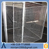 Durable and anti-rust low price comfortable powder coating galvanized dog cages/kennels/pet houses