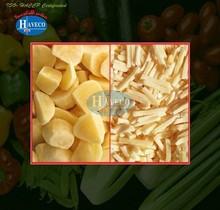 Frozen IQF potato Cubes