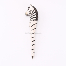 Novelty Wooden Hand Craft Animal Ballpoint Pen, Creative Wooden Craft Animal Ball Pen