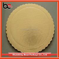 wholesale gold cardboard cake circles cake pad made in china
