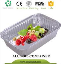 CE Multi-size Roasting Cooking Aluminium Foil Tray