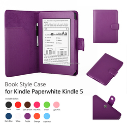 newest Folio pu leather Case For Amazon Kindle Fire 7 2015