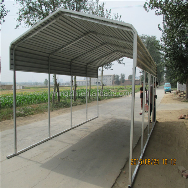 Single slope carport buy portable carport canopy for Single slope carport