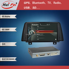 Support Bluetooth DVR Car Gps Navigation For BMW 3 F30 HD 1080 Display Wince 6.0 System 8 Inch