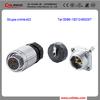 china power plug 3way connector IP67 3pin metal connector solar panel connector