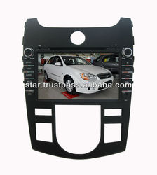 KIA CERATO 2012 Car DVD with GPS Navigation ipod , Bluetooth,radio,automatic