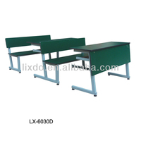 High Quality Metal Frame Student Desk and Bench