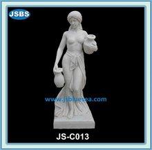 modern stone white beautiful nude girls with pot