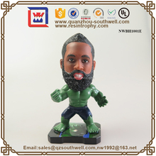 Resin Fashion NBA Basketball Player Bobble Head New Design Bobblehead