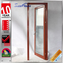 2015 new designed wood grain australia standard as2047 aluminum door and window with Alibaba trade assurance service