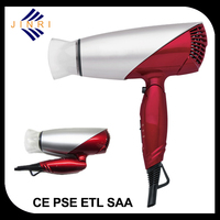 110v~220v 2015 blow dryer travel hair dryer with cool shot