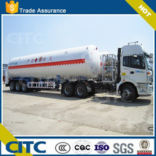 Hot Sale Fuwa Axle lpg/gas tank trailer for sale 55000L competitive price in China