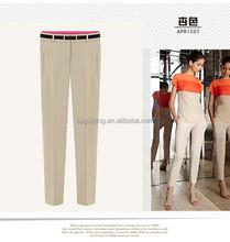 Fashion Ladies Fancy Pencil Trousers, OEM Design Women Pants,Long Pants