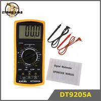 DT9205A AC/DC LCD Display Professional Electric Handheld Tester Meter Digital Multimeter Multimetro Ammeter Multitester