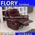 Cuero italiano cubierto sillón reclinable establece F2151