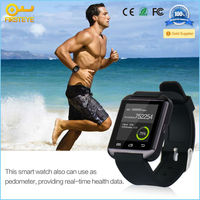2015 G2 smart watch with Bluetooth 3.0/Time Sync/SMS/Pedometer/Stopwatch