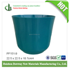 Factoury direct selling Bamboo fiber outdoor Garden flower pots with finish