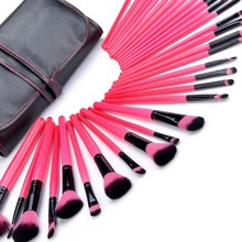 32 Piece Professional Cosmetic Make Up Brush sets With Holder Bag SV009568