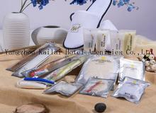 Hotel di plastica personalizzati pettini/plastica rasoio usa e getta per hotel/monouso lavare a mano saponi per hotel