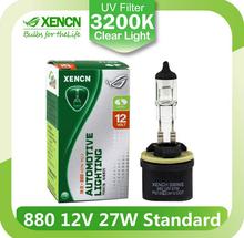 XENCN 880 12V 27W 3200K Clear Series Original Car Headlight DOT Halogen Bulb Auto Fog Lamps for Eagle Ford Mercury Dodge RAM