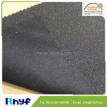 Powder dot twill woven interfacing fabric for men suit