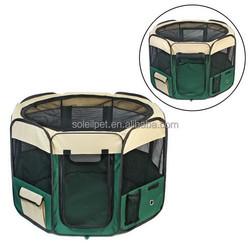 High Qualit Portable Lightweight Pet Playpen Soft Pet Travel Cage Pet Supplies Dog