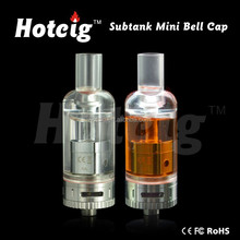 HotCig newest hot selling rebuildable atomizer subtank mini bell cap for wholesale
