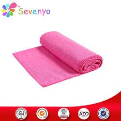 100% microfiber yoga mat towel wiith anti-slip dots