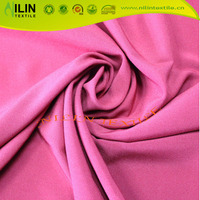 150D four way stretch fabric plain dyed color for fashion dress