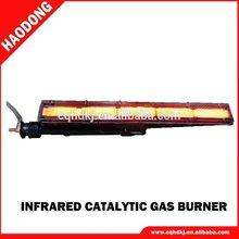 Industrial gas quemador de infrarrojos panel de cerámica quemador de gas radiante HD101