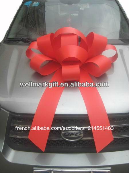 30 g ant ext rieur magn tique voiture rouge arc des d corations spectacle pour la voiture. Black Bedroom Furniture Sets. Home Design Ideas