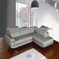moderna sección genuino conjunto de sofás de cuero