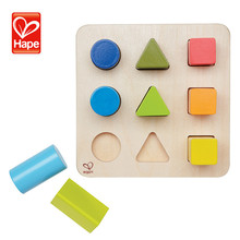 New product children manufacturing custom wood block toy