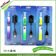 Most Popular Evod clearomizer Evod Blister kit, high quality electronic cigarette Mt3 Evod Mt3 starter kit with ODM/EOM FREE